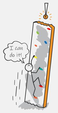 "Grafik zu Lerncoaching-Workshop ""I can do it"""