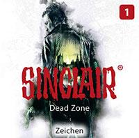 CD Cover Sinclair Dead Zone - Folge 1 - Zeichen