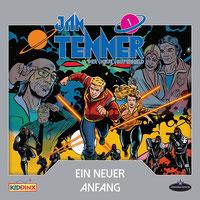 CD Cover Jan Tenner - Ein neuer Anfang 1