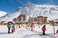 Skischule mit Zauberteppich