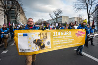 "Demo ""Wir haben es satt!"" 2019 (Foto: NABU/Sebastian Hennigs)"