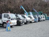 商業車を中心にトラック・バン・軽自動車・軽貨物・普通乗用車を取りそろえております。 ご希望のお車をお探し致します。 お気軽にご相談下さい。