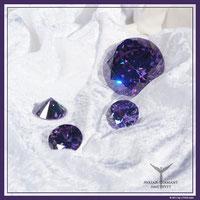 Diamant Amethyst für die Verbindung zum göttlichen Bewusstsein