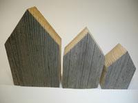 --LA CIUDAD-- Holzhaus-Set aus Altholz