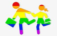 Jóvenes LGBT.