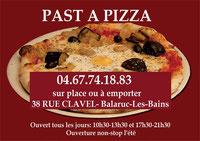 Pasta à pizza Balaruc les bains