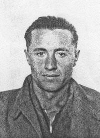 Michał Rudyk w wieku 30 lat, zdjęcie skanowane z Karty Ewidencyjnej Repatrianta z 1956 r.