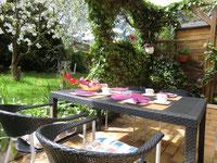 Frühstück auf der Terrasse ;-)