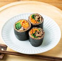 aciao米のロール寿司
