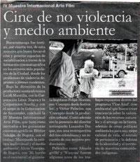 talleres arte film, formación de públicos, alternativo y comunitario, muestra alternativa y video comunitario, festival internacional de cine santander, no violencia y medio ambiente, bucaramanga, lei