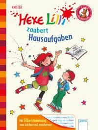 """Buchcover """"Hexe Lilli - zaubert Hausaufgaben"""""""
