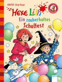 """Buchcover """"Hexe Lilli - Ein zauberhaftes Schulfest"""""""