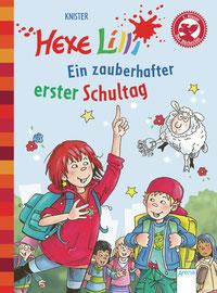 """Buchcover """"Hexe Lilli - Ein zauberhafter erster Schultag"""""""
