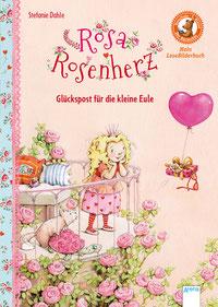 """Buchcover """"Rosa Rosenherz - Glückspost für die kleine Eule"""""""
