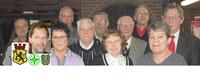 Mitglieder des Vorstandes im Januar 2013