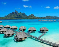 Bora Bora - French Polynesia - I was there for 1 day coming from Moorea in 1993.