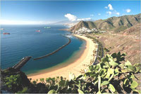 "The beach of ""Las Teresitas"" on the island of TENERIFE/Spain - I had time-sharing vacation weeks in Los Cristianos in the south but had to sell them in 2013 !"