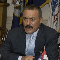 Ali Abdullah Saleh (2004) Präsident von 1978 bis 2015 (04.12.2017 ꝉ)