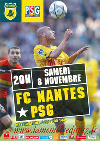 Affiche  Nantes-PSG  2003-04