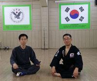 2016 Besuch beim Hapkido GM Han in Korea