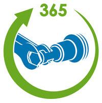 LPG-Adapter - jährlicher Filterwechsel