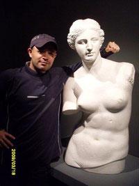 El pro con la diosa Venus