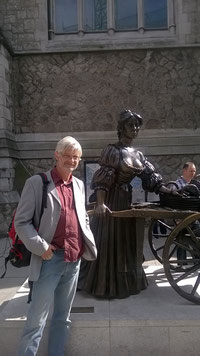 Molly Malone und Wilko in Dublin