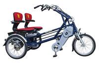 van Raam Fun2Go Dreirad und Elektro-Dreirad für Erwachsene - Spezial-Dreirad 2017