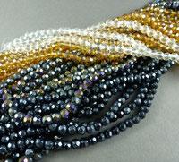 Feuerpolierte Perlen