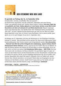 Krimigeschichte 1. Kapitel - 3. Mülheimer Schaufensterwettbewerb