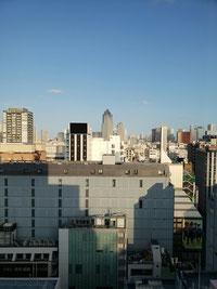 銀座伊東屋12階から築地方面を望む