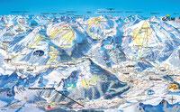 Winterkarte Montafon