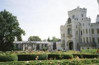 フランス庭園・イギリス庭園がある