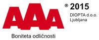 AAA boniteta odličnosti 2015