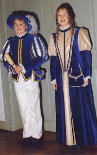 Kinderprinzenpaar 1998 - 1999