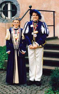 Kinderprinzenpaar 1999 - 2000