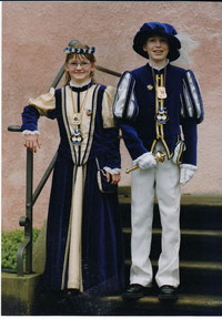 Kinderprinzenpaar 2001 - 2002