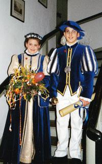 Kinderprinzenpaar 2000 - 2001