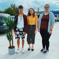 Jonathan, Lisa, Christin - BFD'ler 2020/2021