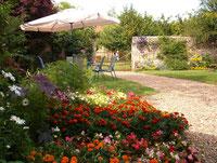 jardin dicht bij Loire kastelen overnachten bij nederlanders