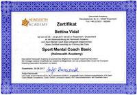 Zertifikat Sport Mental Coach Basic