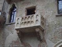 Julias Balkon in Verona aufgenommen von Hans-Martin