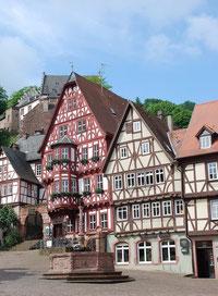 """Der Marktplatz- das """"Herz"""" Miltenbergs"""
