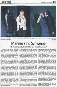 Schwäbisches Tagblatt 26.01.2004