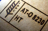 IPPC Brennstempel - ISPM Nr. 15