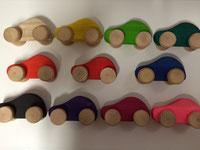 Palette de couleurs naturelle pour les jeux