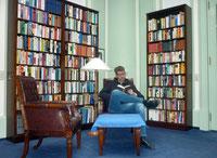 Lesestunde im Schlosshotel auf Usedom 2014