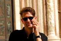 Autor Lars Gebhardt besucht Dante Aighieri in Florenz