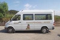Kleinbus - max. 14 Personen