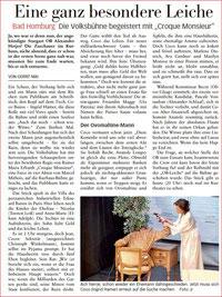 Taunuszeitung vom 6.11.2018